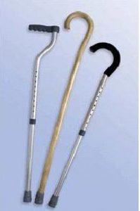 Aluminium Walking Sticks